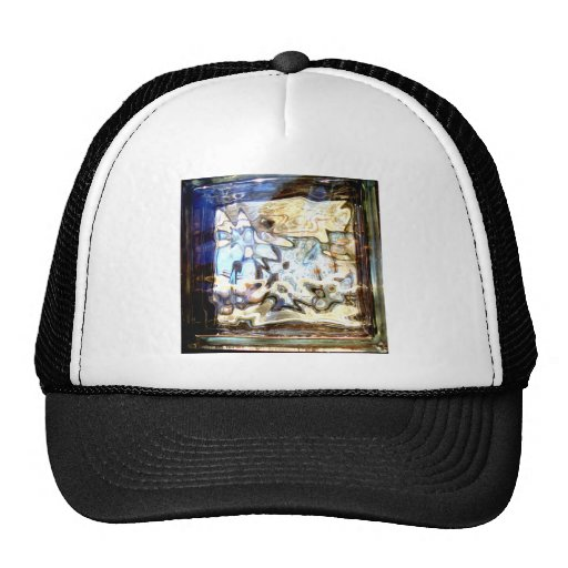 Glass Flowers Abstract Designer Accents Trucker Hat