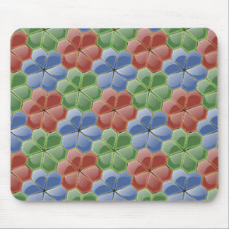 Glass Flowers Mouse Pad