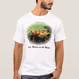 Glass Flowers on the Water T-Shirt
