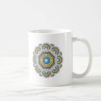 Glass Fractal Coffee Mug