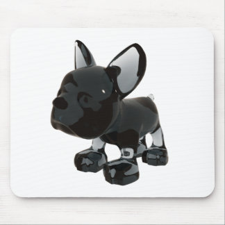 Glass Frenchie Mouse Pad