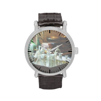 Glass Funnels and Bottles Wrist Watches