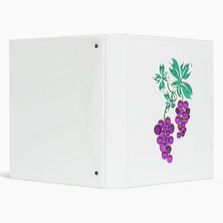 Glass Grapes Binder