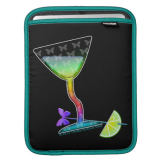 GLASS HALF FULL BUTTERFLY MARTINI SLEEVE FOR iPads