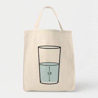 Glass Half Full - optimism Tote Bag