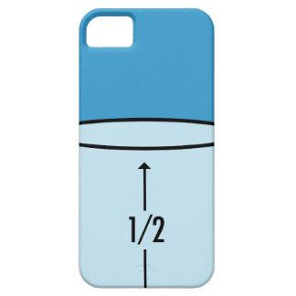 Glass Half Full - optimism iPhone 5 Cases