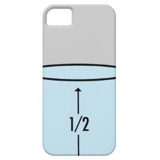 Glass Half Full - optimism iPhone SE/5/5s Case