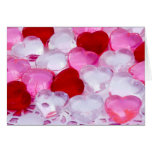 Glass hearts IV Greeting Cards