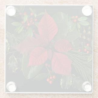 Glass Holiday Coasters