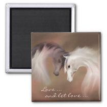 """""""Glass Horses, Love ..."""" ~ Magnet"""