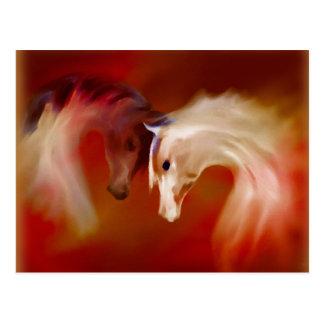 """Glass Horses"" ~ Postcard"