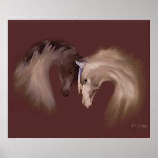 """Glass Horses"" ~ Poster"