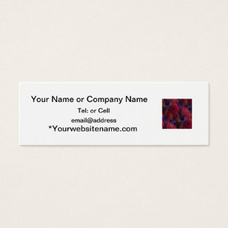 Glass inclusions number 1 mini business card