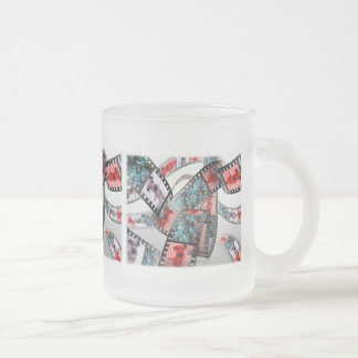 "Glass ""Irish Terrier "" Frosted Glass Coffee Mug"