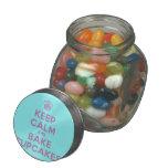 [Cupcake] keep calm and bake cupcakes  Glass Jars