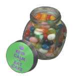 [Crown] keep calm and eat cake  Glass Jars
