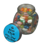 [Crown] keep calm and follow supsophie  Glass Jars