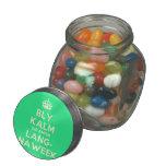 [Crown] bly kalm dis amper lang- naweek  Glass Jars