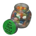 [Feet] keep calm and fuck a virgo  Glass Jars