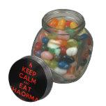[Campfire] keep calm and eat shaorma  Glass Jars