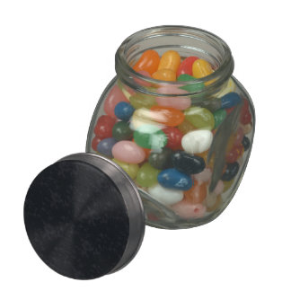 Glass Jelly Belly™ Glass Jar QC Template