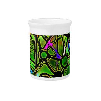 glass jpg manchado extranjero jarra de beber