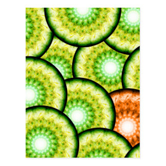 Glass Limes Postcard