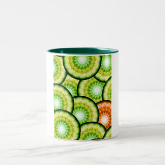 Glass Limes Two-Tone Coffee Mug