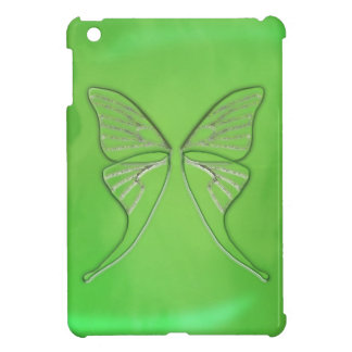 Glass Luna Moth Wings (Lime) iPad Mini Case