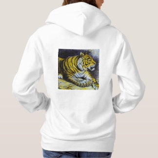 Glass Magic lantern slide A TIGER 1900 BIG CAT Hoodie
