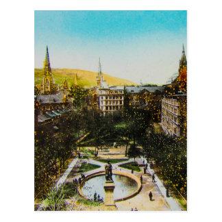 Glass Magic Lantern Slide MONTREAL 1890 Canada Postcard