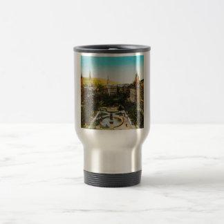 Glass Magic Lantern Slide MONTREAL 1890 Canada Travel Mug