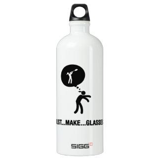 Glass Making Aluminum Water Bottle