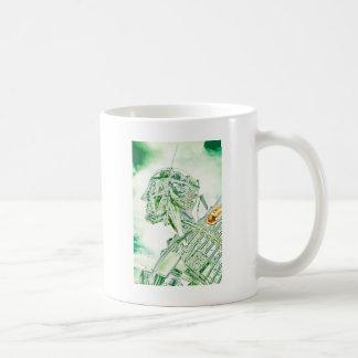 Glass Man Robot Coffee Mug