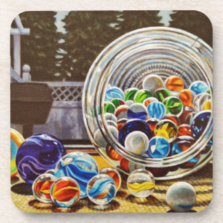 Glass Marbles Coaster
