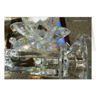 Glass, Marbles & Mirror Greeting Card