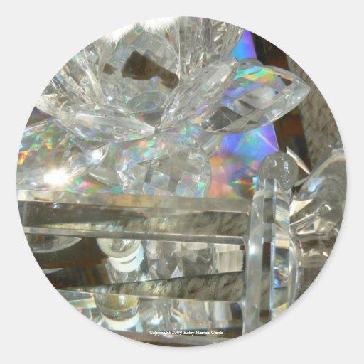 Glass, Marbles & Mirror Sticker