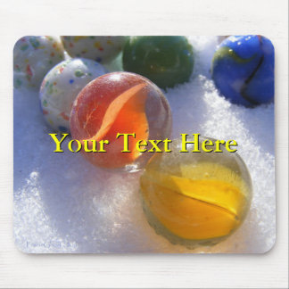Glass Marbles Mousepad
