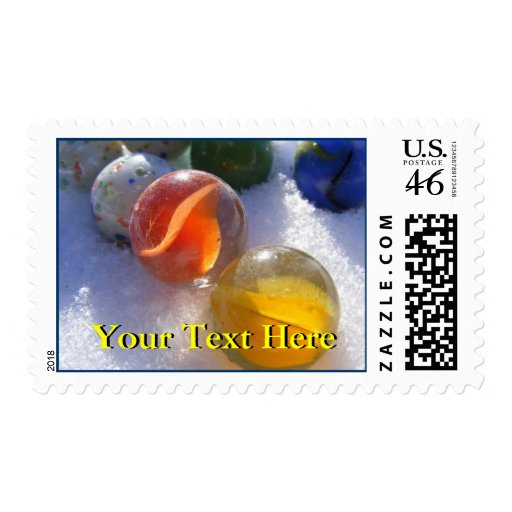 Glass Marbles Postage