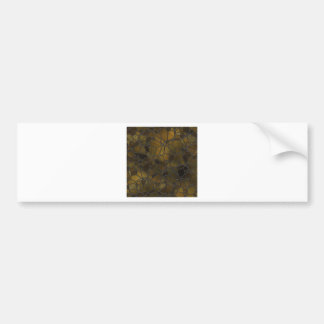 Glass Mosaic Images Bumper Sticker