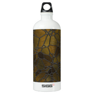 Glass Mosaic Images Water Bottle