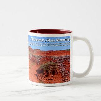 Glass Mountains IV - Permian Red Beds Coffee Mug