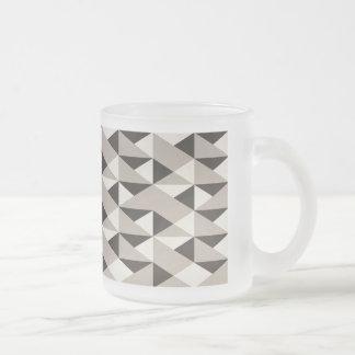 Glass mug fosco 296 ml Geometric Designer