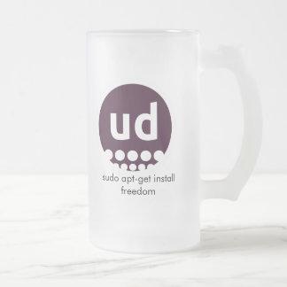Glass mug fosco - chopp