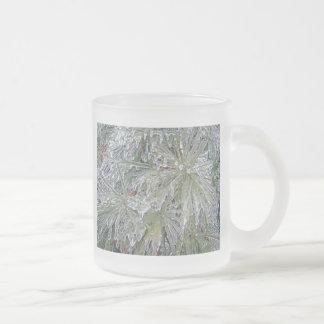 Glass Mug Iced Pine - Natural