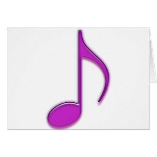 Glass Music Tools Card