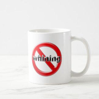 Glass No Whining Coffee Mug