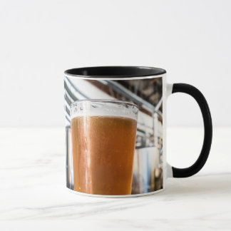 Glass of Beer at Microbrewery Mug