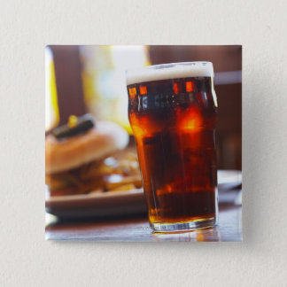 Glass of beer button