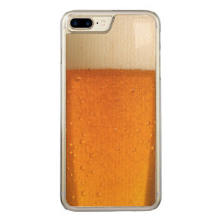 Glass of Beer Carved iPhone 7 Plus Case